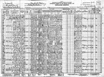 Arthur T. Rogers Family 1930 Census