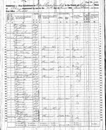 James Chambers Family - 1860 Census
