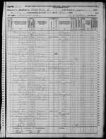 James Chambers Family - 1870 Census