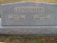 Lilly B. and J. Embert Leatherberry