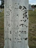 Mary Catharine DeHoffe Doll Tombstone