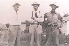 "Oscar Hopkins, William ""Wiley"" Hopkins, and Hargis Hopkins"