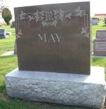 May Tombstone, Remington Cemetery