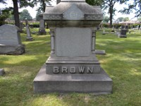 Solomon Brown Family Tombstone
