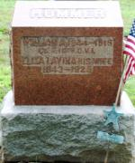 William and Lavina Kope Hummer Tombstone
