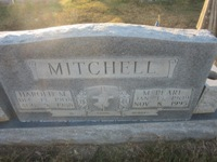 Harold and Pearl Whitten Mitchell Tombstone