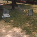 Hiram Jesse and America Robertson Smith Tombstones