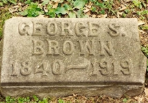 Tombstone - George S. Brown