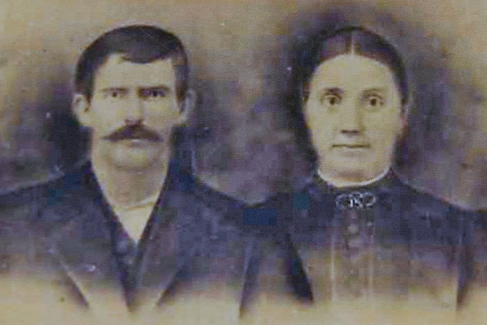 George Washington Allen and Eliza Jane Burns Allen