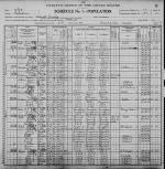 Lafayette Hiner Family 1900 Census